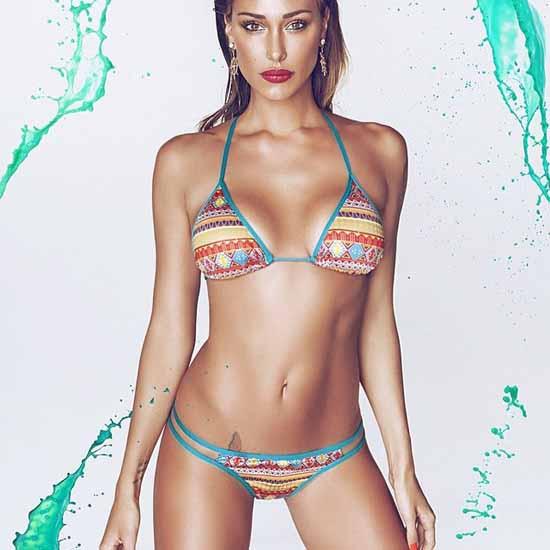 Belen Rodriguez Bikini Nude Photos 15
